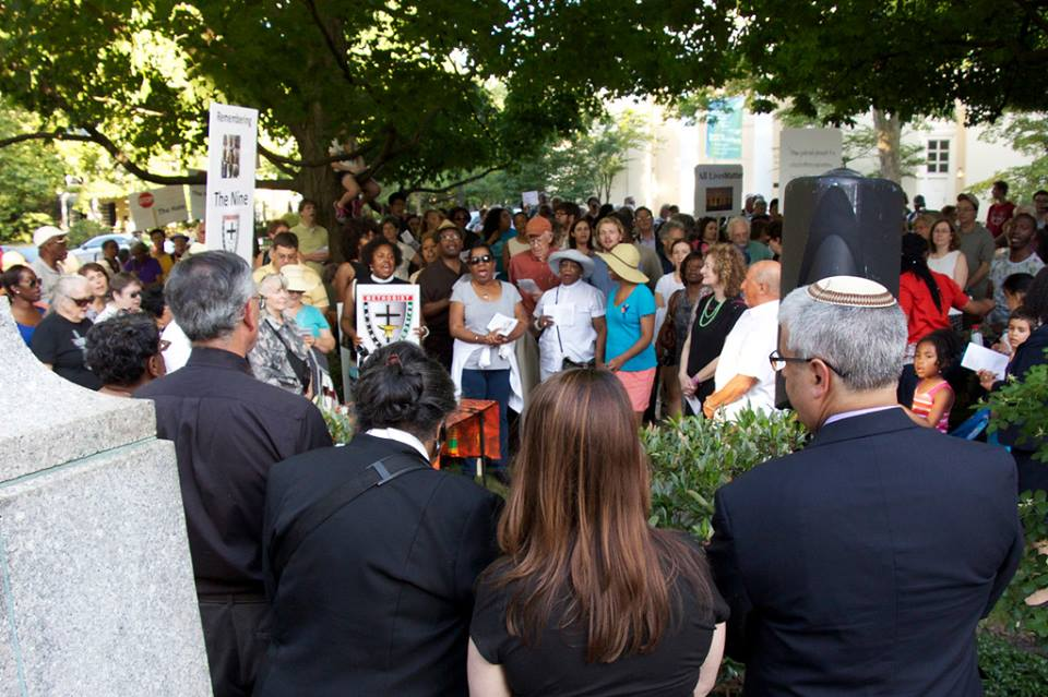 Charleston Shooting Rally and Vigil