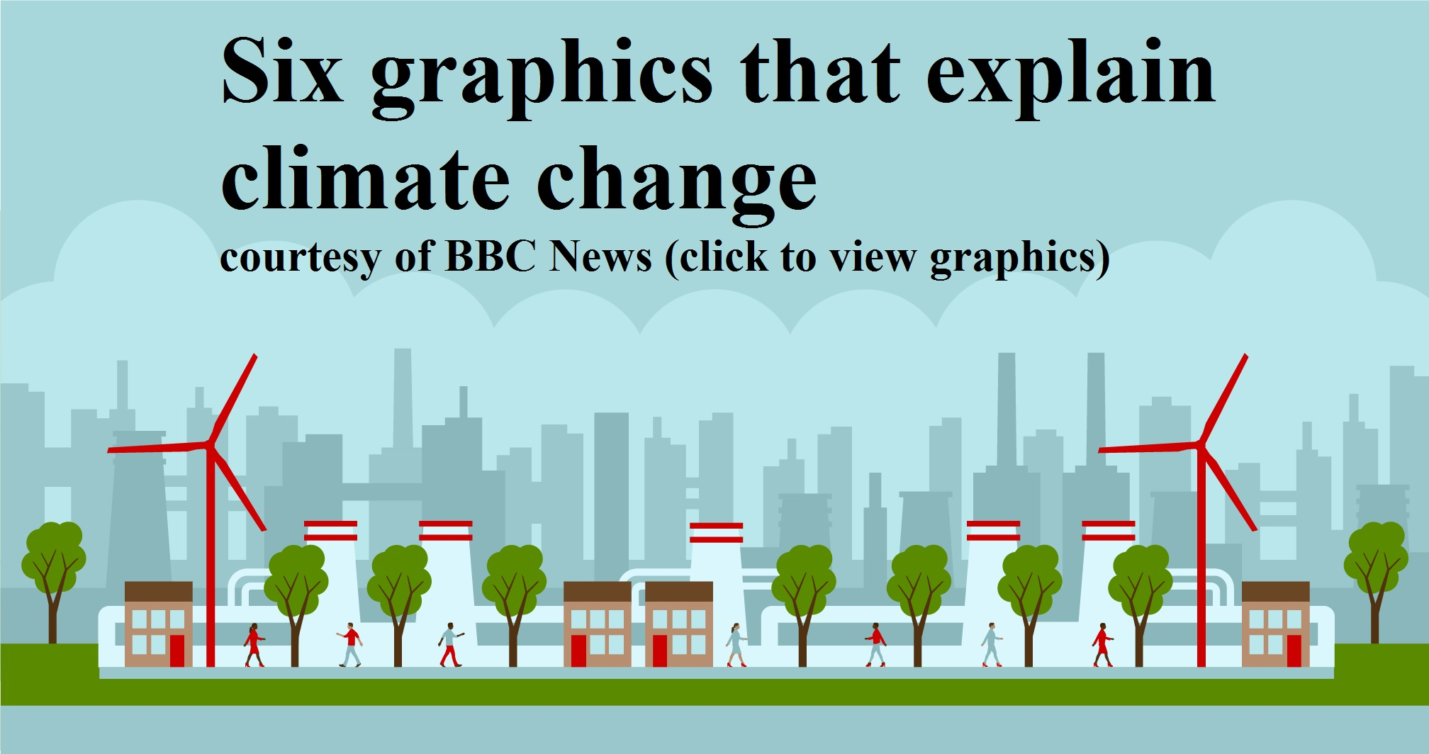 SIX GRAPHICS THAT EXPLAIN CLIMATE CHANGE FROM BBC NEWS