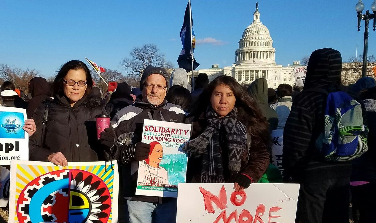 No Wars, No Warming Support of Standing Rock